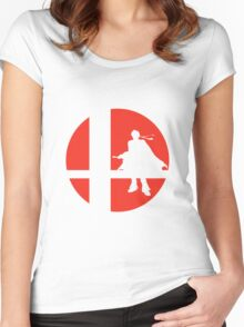 Roy - Super Smash Bros. Women's Fitted Scoop T-Shirt