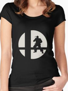 Ryu - Super Smash Bros. Women's Fitted Scoop T-Shirt