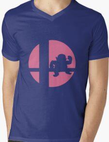 Wario - Super Smash Bros. Mens V-Neck T-Shirt