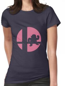Wario - Super Smash Bros. Womens Fitted T-Shirt