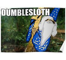 Dumblesloth Poster