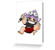 chibi me Greeting Card