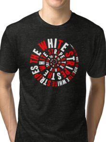 White Stripes Whirlpool Tri-blend T-Shirt