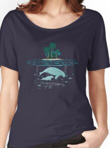 Manatee Island Women's Relaxed Fit T-Shirt