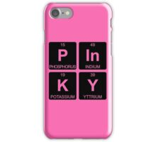 P In K Y - Pinky - Periodic Table - Chemistry iPhone Case/Skin