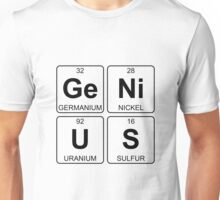 Ge Ni U S - Genius - Periodic Table - Chemistry Unisex T-Shirt