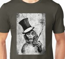 Monkey smoke Unisex T-Shirt