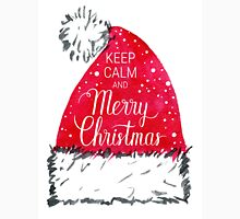 Keep calm and Merry Christmas poster  Unisex T-Shirt