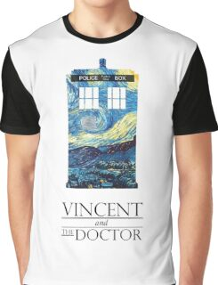 """Vincent and the Doctor"" Graphic T-Shirt"