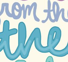 hello from the other side lyric inspiration girly tumblr typography Sticker
