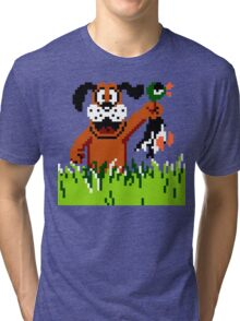 """Retro Retriever"" Duck Hunt Tri-blend T-Shirt"