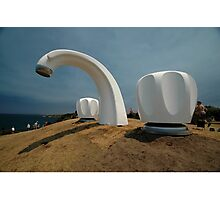 Big Tap @ Sculptures By The Sea, Australia 2011 Photographic Print