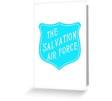 The Salvation Air Force Greeting Card