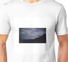 """the truth is out there"" - the x-files  Unisex T-Shirt"