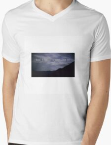 """""""the truth is out there"""" - the x-files  Mens V-Neck T-Shirt"""
