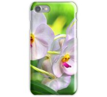 Anthropomorphic Aardvark Orchid iPhone Case/Skin