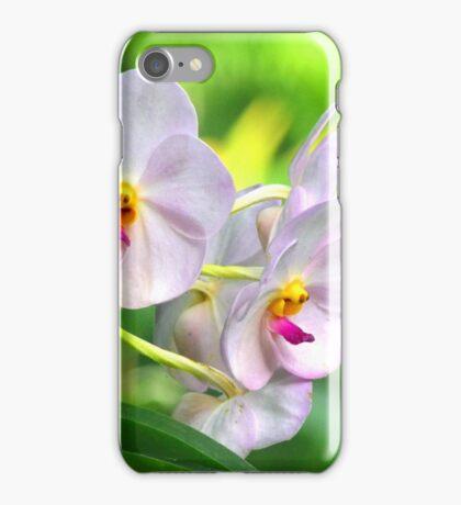 Anthropomorphic Aardvark Orchid iPhone Case/Skin