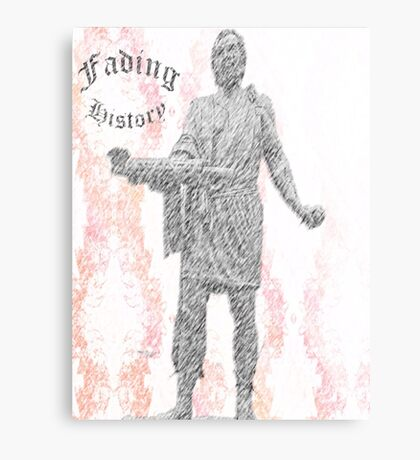 Fading History Canvas Print