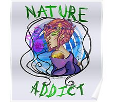 Nature Is My Only Solace Poster