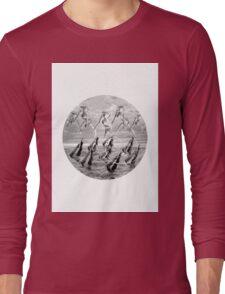 synchrone swimming Long Sleeve T-Shirt