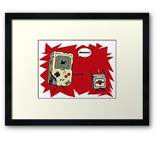 gameboy zombie Framed Print