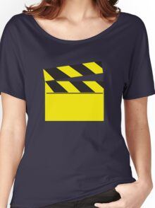 Blank FILM movie board Women's Relaxed Fit T-Shirt