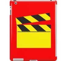 Blank FILM movie board iPad Case/Skin