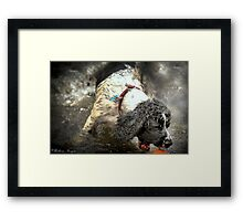 Just One More Second Framed Print