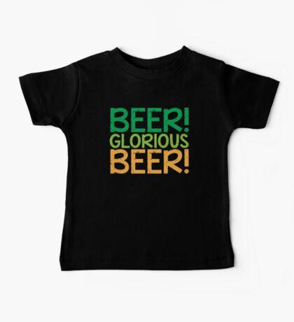 BEER GLORIOUS BEER! Baby Tee