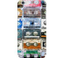 old tapes iPhone Case/Skin
