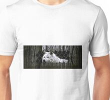 wolf in forest Unisex T-Shirt