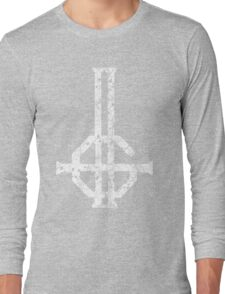 2015 LOGO - destroyed white Long Sleeve T-Shirt