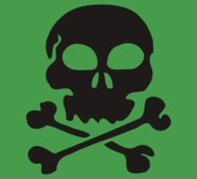 SKULL AND CROSSBONES by Zombie Ghetto Kids Tee