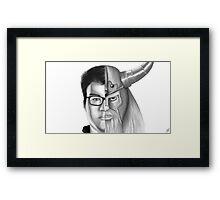 League of Legends - Dyrus/Olaf Design Framed Print