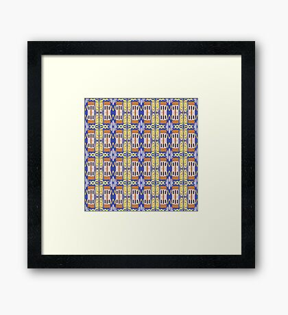 ABSTRACTION 80 Framed Print