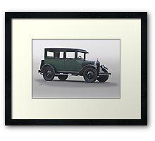 1928 Chevrolet Family Sedan Framed Print