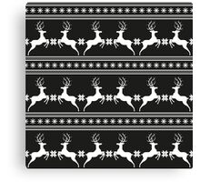 Pattern with deer Canvas Print
