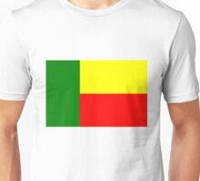 Flag of Benin, Africa. Unisex T-Shirt