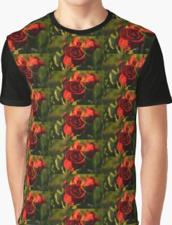 Ruby Red Birthday Roses  Graphic T-Shirt
