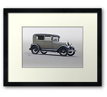 1928 Ford 'Showroom' Sedan Framed Print