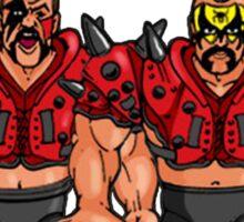 WWF Hasbro Classic Figures Hawk Animal Legion of Doom Sticker