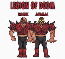 WWF Hasbro Classic Figures Hawk Animal Legion of Doom by subblockuk
