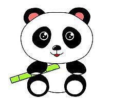 Cute Panda Photographic Print