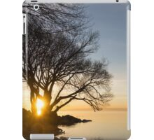 On Fire - Sunrise Through The Willows iPad Case/Skin