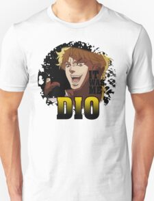 JoJo's Bizarre Adventure - IT WAS ME DIO! Logo Unisex T-Shirt