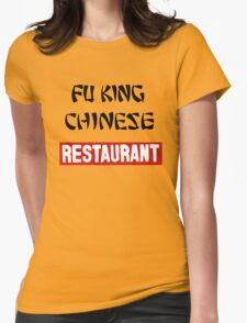 fu king chinese restaurant Womens Fitted T-Shirt