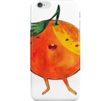 Playful Orange iPhone Case/Skin