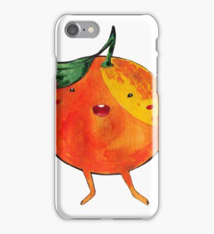 Playful Orange iPhone Case/Skin
