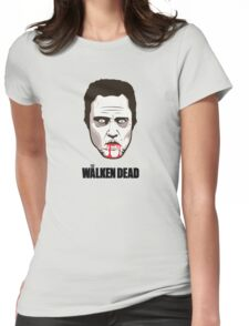 "Christopher Walken - ""The Walken Dead"" Official Womens Fitted T-Shirt"