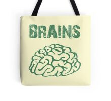 BRAINS by Zombie Ghetto Tote Bag